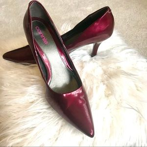 Connie Red Patent Leather